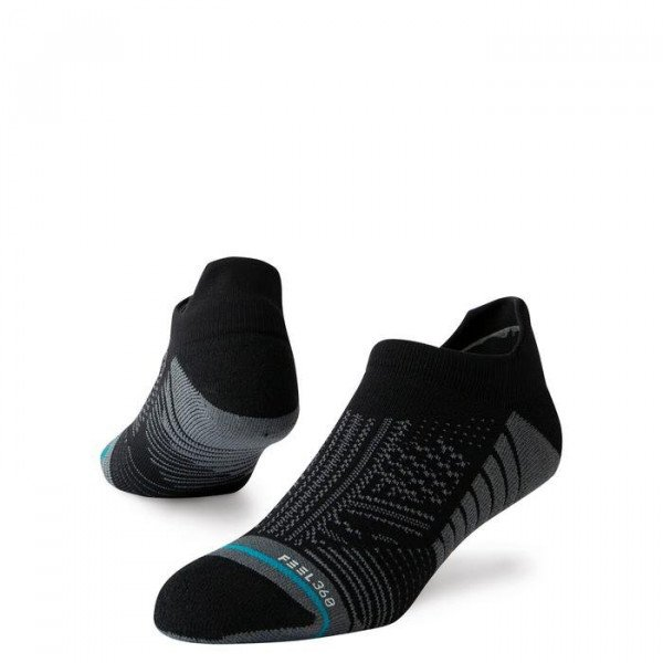 STANCE ZEĶES ATHLETIC UNCOMMON TRAIN TAB BLACK