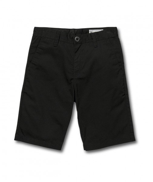 VOLCOM SHORTS FRICKIN CHINO SHORT KIDS BLK S19