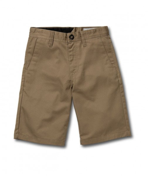 VOLCOM SHORTS FRICKIN CHINO SHORT KIDS KHA S19