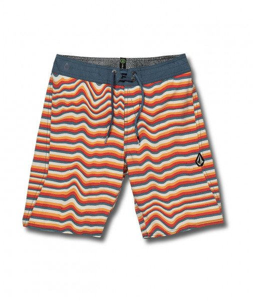 VOLCOM SHORTS AURA STRIPE BOARDSHORT KIDS YOR
