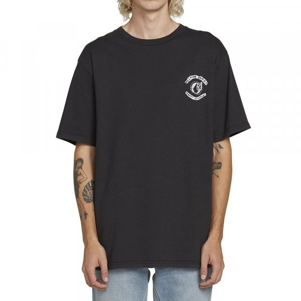 VOLCOM T-SHIRT CONCEPTION S/S TEE BLK S19