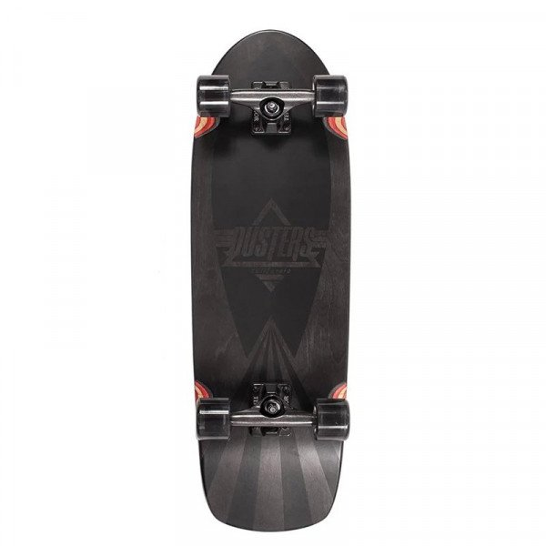 DUSTERS LONGBOARD CAZH BLACKED CRUISER 29.5