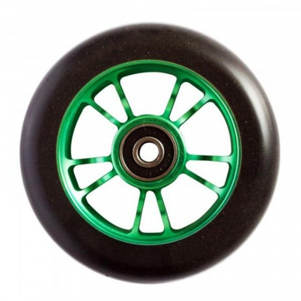 BLUNT RITENTIŅŠ WHEEL 10 SPOKES 100MM GREEN