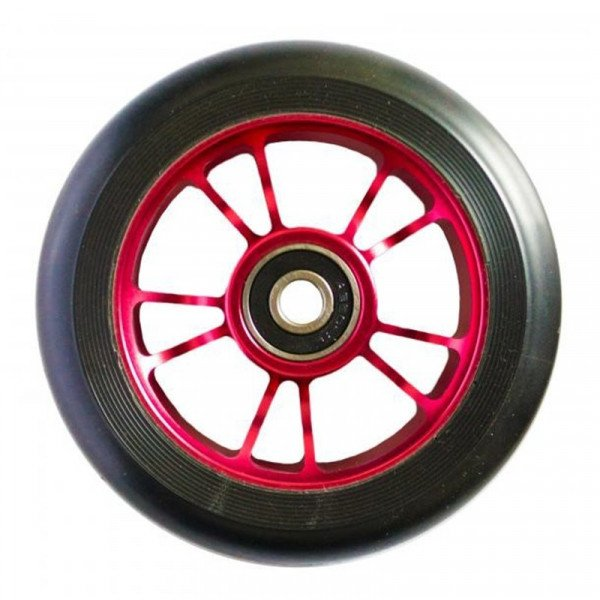 BLUNT WHEELS WHEEL 10 SPOKES 100MM RED