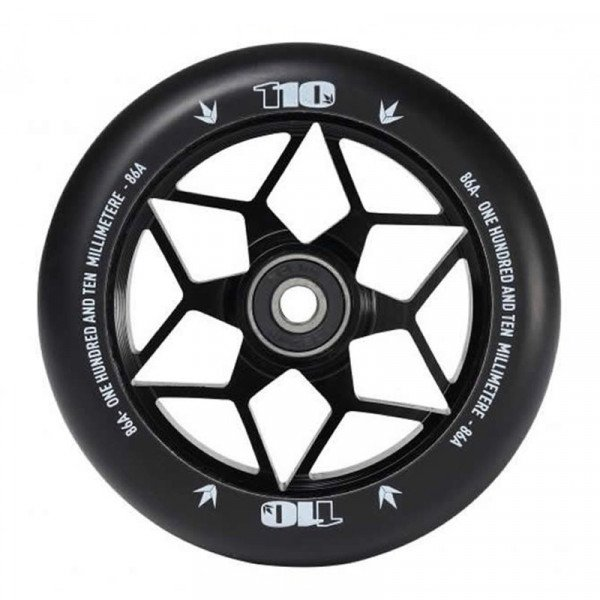 BLUNT WHEELS WHEEL DIAMOND 110MM BLACK