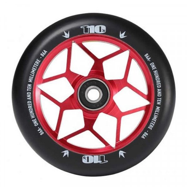 BLUNT WHEELS WHEEL DIAMOND 110MM RED