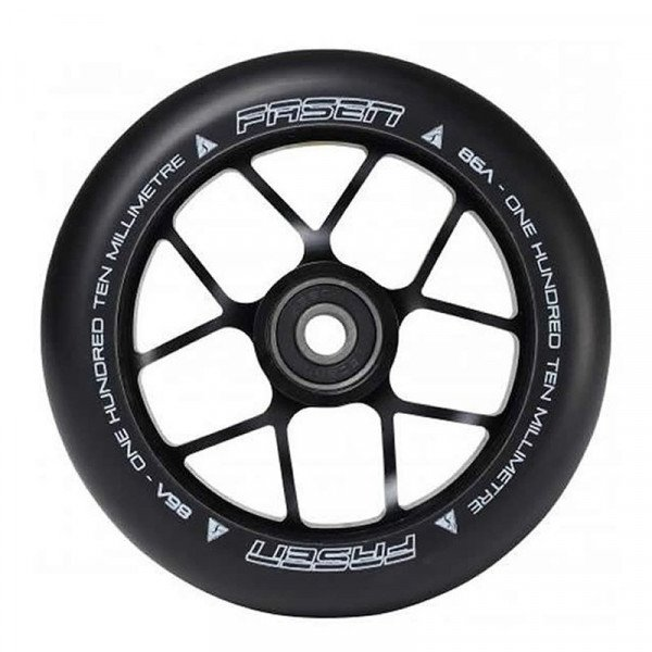 FASEN RITENTIŅŠ WHEEL 110MM JET BLACK