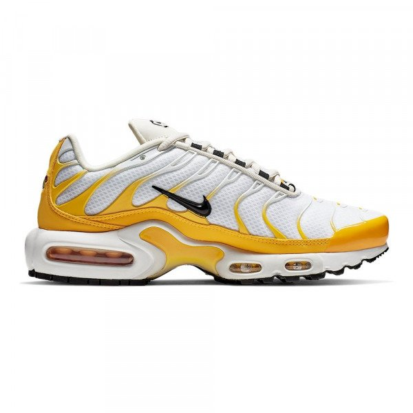 NIKE SHOES AIR MAX PLUS W YELLOW BLACK WHITE S19