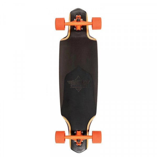 DUSTERS LONGBOARD CHANNEL BLACK PRISM 34