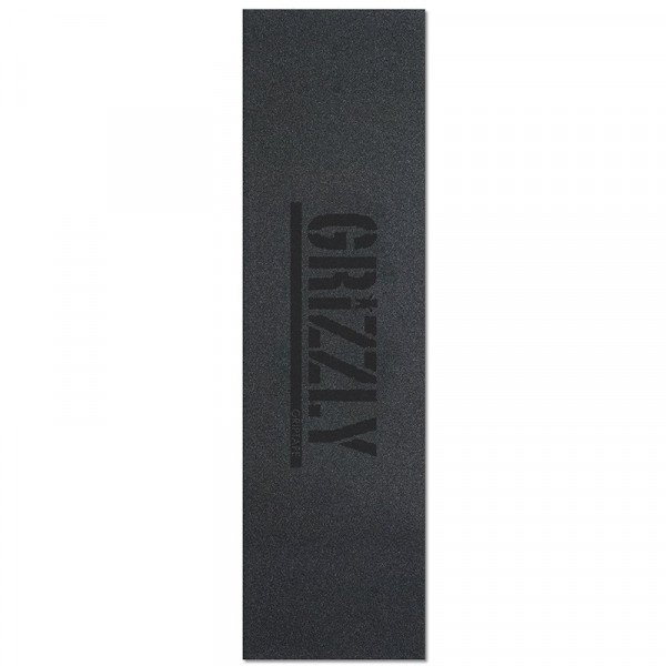 GRIZZLY SMILŠPAPĪRS STAMP BLACK