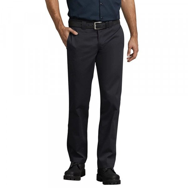 DICKIES BIKSES S/STGHT WORK PANT BLK S19