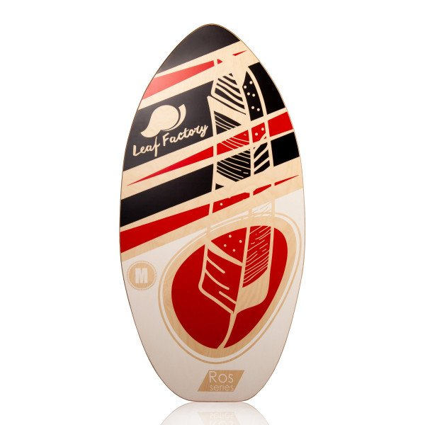 LEAF FACTORY SKIMBOARD LEAF ROS RED STORM M