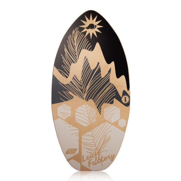 LEAF FACTORY SKIMBOARD LEAF ROS GREY STAR L