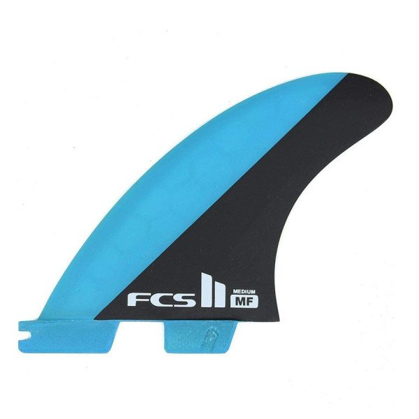 FCS FINS II MF PC BLUE BLACK MEDIUM TRI