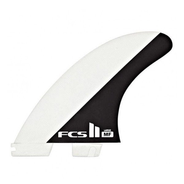 FCS FINS II MF PC BLACK WHITE LARGE TRI