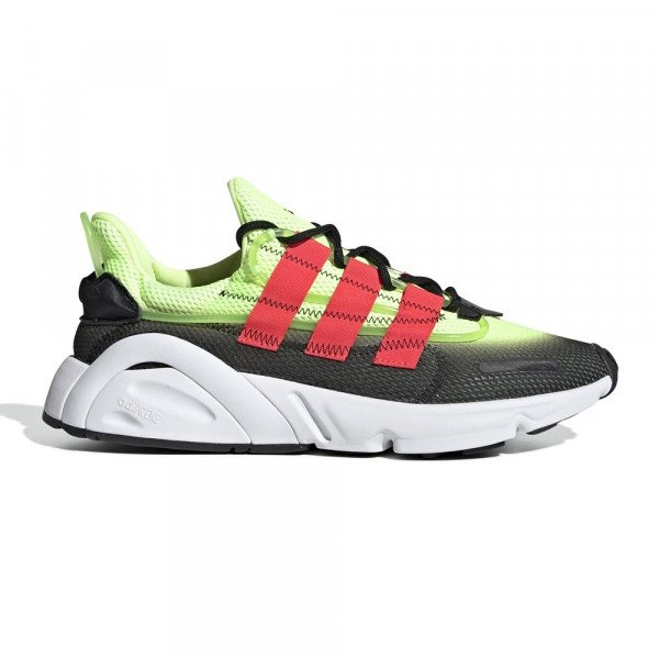 ADIDAS SHOES LXCON CORE BLACK SHOCK RED S19