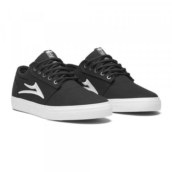 LAKAI APAVI GRIFFIN BLACK CANVAS S19