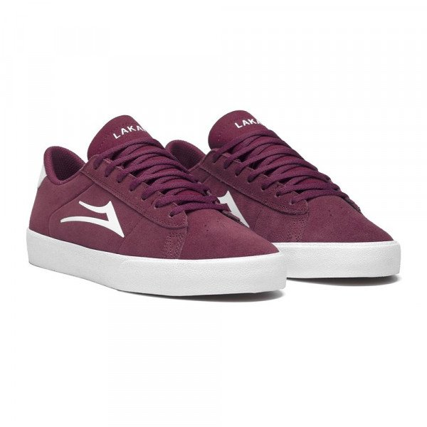 LAKAI APAVI NEW PORT BURGUNDY SUEDE S19