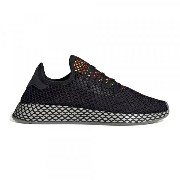 ADIDAS SHOES DEERUPT RUNNER CORE BLACK SESAME S19