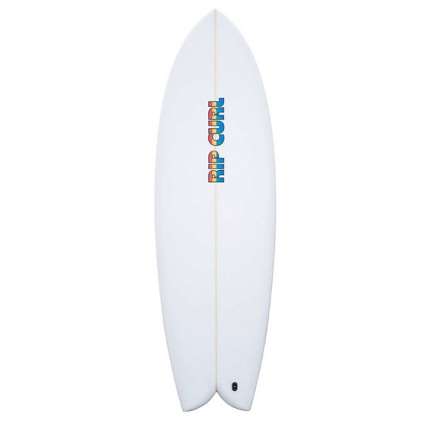 RIP CURL SURF BOARD TWIN PU CLEAR 5'10