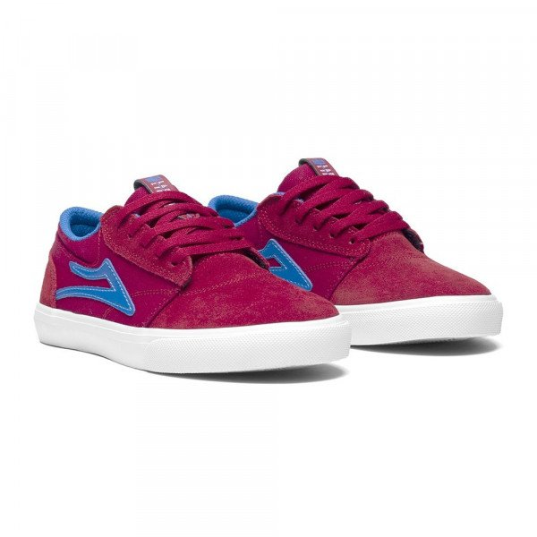 LAKAI SHOES GRIFFIN KIDS RED BLUE S19