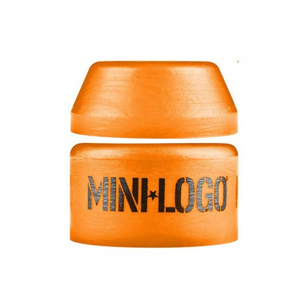 MINI LOGO BUSHINGS MEDIUM PAIR ORANGE