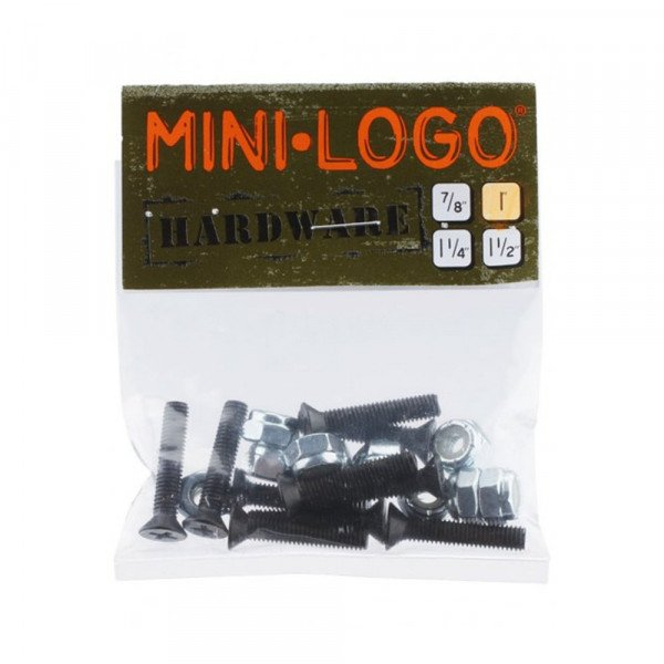MINI LOGO NUTS/BOLTS 1 1/4