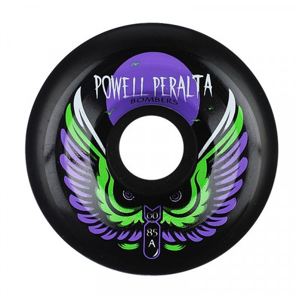 POWELL PERALTA WHEELS BOMBERS 3 60MM 85A BLACK