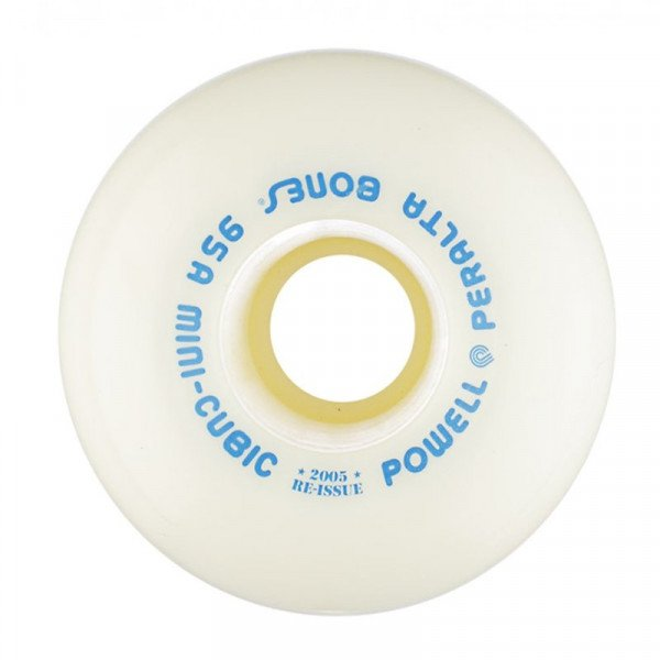 POWELL PERALTA WHEELS MINI CUBICS 64MM 95A WHITE