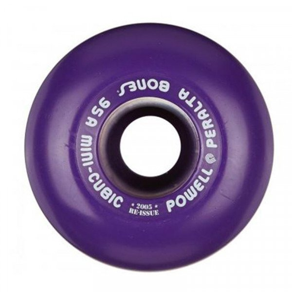 POWELL PERALTA WHEELS MINI CUBICS 64MM 95A PURPLE