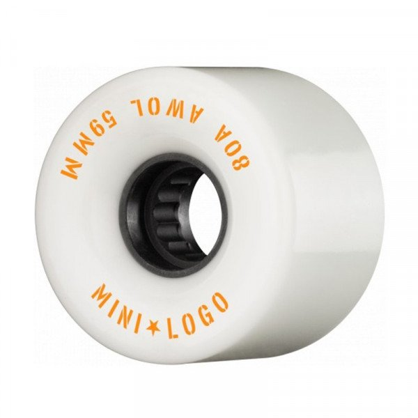 MINI LOGO WHEELS A.W.O.L 59 X 80A WHITE