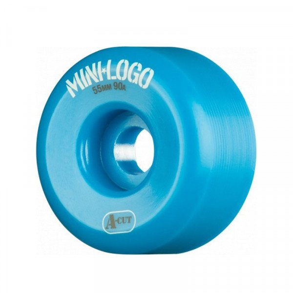 MINI LOGO WHEELS A-CUT 55 X 90A HYBRID BLUE