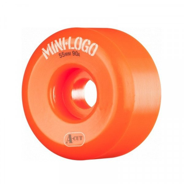 MINI LOGO WHEELS A-CUT 55 X 90A HYBRID ORANGE