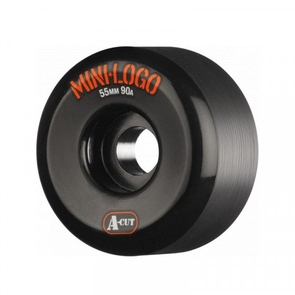 MINI LOGO WHEELS A-CUT 55 X 90A HYBRID BLACK