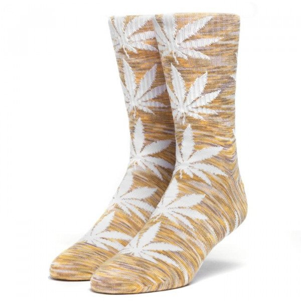 HUF ZEĶES MELANGE PLANTLIFE SOCKS YELLOW S19