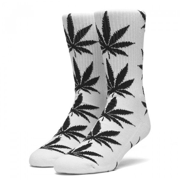HUF ZEĶES ESSENTIALS PLANTLIFE SOCK WHITE S19