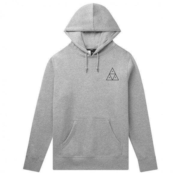 HUF HOOD TRIPLE TRIANGLE GREY S19