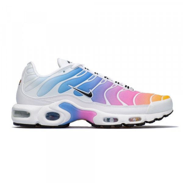 NIKE SHOES AIR MAX PLUS W WHITE UNIVERSITY BLUE S19