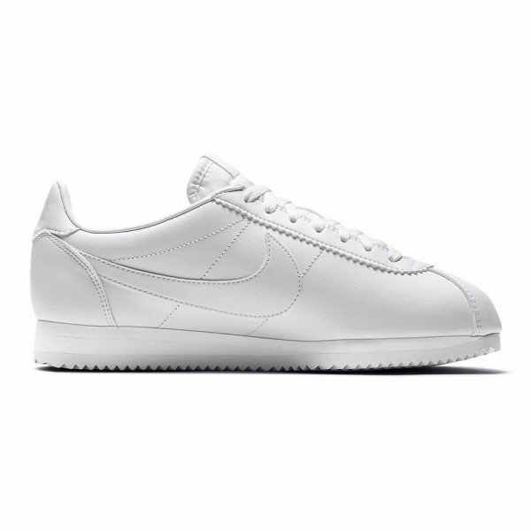 NIKE SHOES CLASSIC CORTEZ LEATHER W WHITE WHITE S19