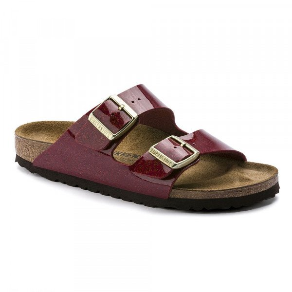 BIRKENSTOCK APAVI ARIZONA BF MAGIC SNAKE BORDEAUX S19