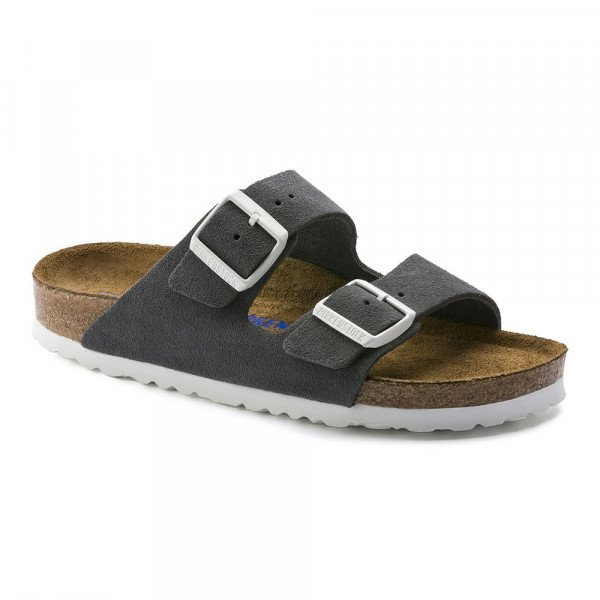 BIRKENSTOCK SHOES ARIZONA SFB VL GUNMETAL S19