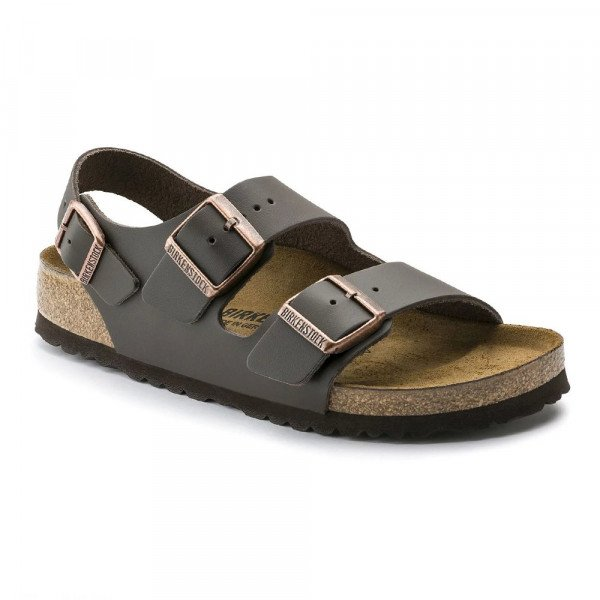 BIRKENSTOCK SHOES MILANO NL DARK BROWN S19
