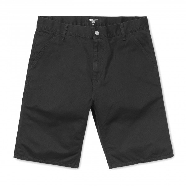 CARHARTT WIP ŠORTI RUCK SINGLE KNEE SHORT BLACK STONE WASHED S19