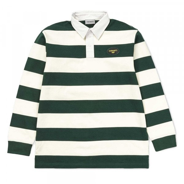 CARHARTT KREKLS L/S ROSLYN POLO WAX BOTTLE GREEN S19