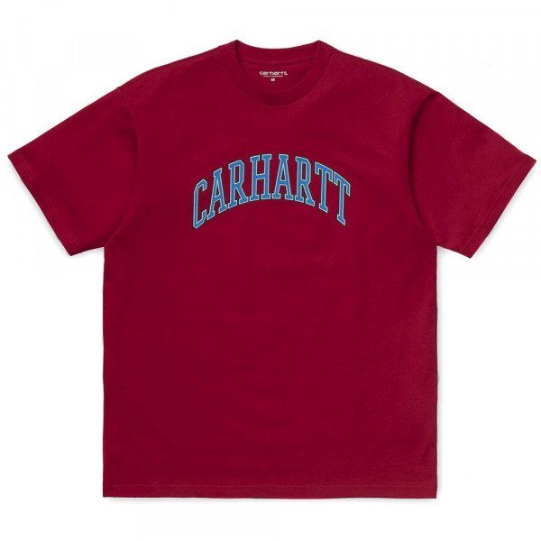 CARHARTT T-SHIRT S/S KNOWLEDGE T-SHIRT CARDINAL S19