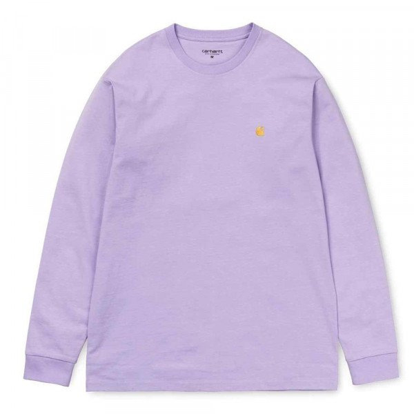 CARHARTT WIP LONGSLEEVE L/S CHASE SOFT LAVENDER F19