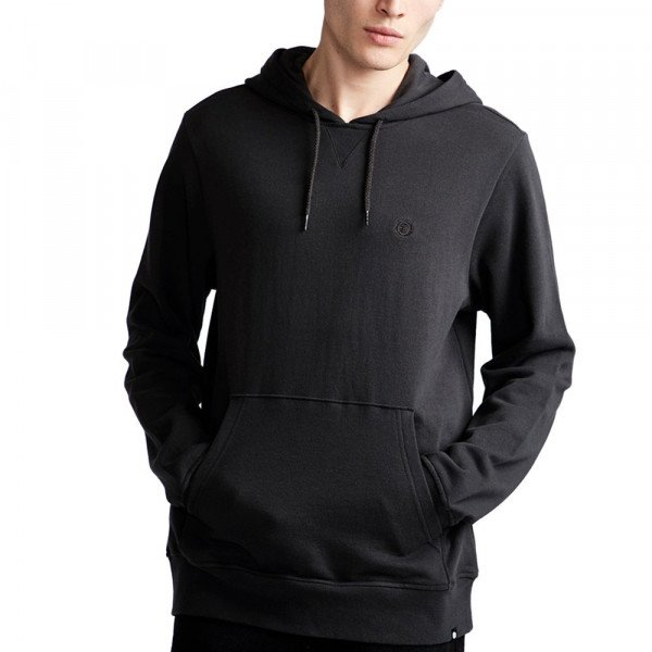 ELEMENT HOOD CORNELL FT HOOD OFF BLACK S19