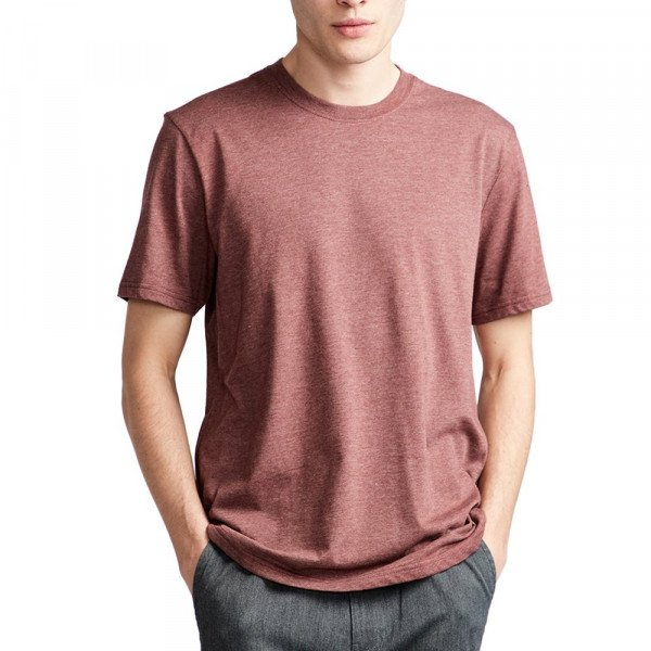 ELEMENT T-SHIRT BASIC CREW SS OXBLOOD HEATHER S19