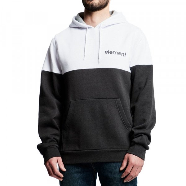 ELEMENT HOOD VIVID PO FLEECE FT OFF BLACK S19