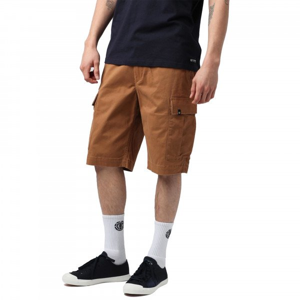 ELEMENT SHORTS LEGION CARGO WK BRONCO BROWN S19